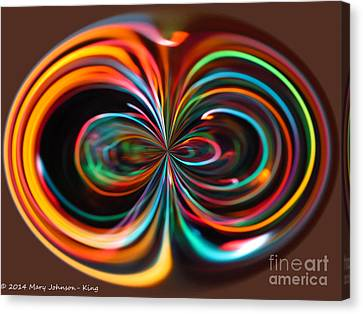 Mary King Canvas Print - Light Art by Mary  King
