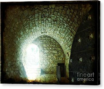 Light At The End Of The Tunnel Canvas Print by Therese Alcorn