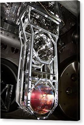 Ligo Gravitational Wave Detector Optics Canvas Print by Caltech/mit/ligo Lab
