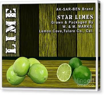 Lime Farm Canvas Print by Marvin Blaine