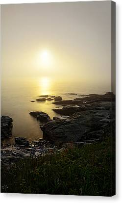 State Of Rhode Island Canvas Print - Limelight Of Beyond by Lourry Legarde
