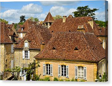 Limeuil En Perigord Canvas Print by Dany Lison