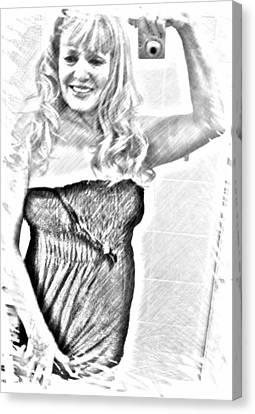 Linda Canvas Print by HollyWood Creation By linda zanini