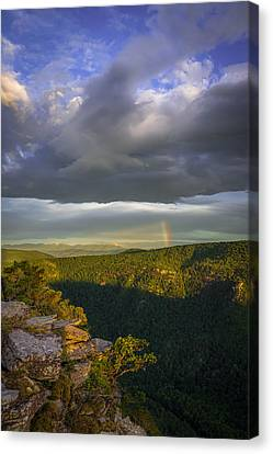 Linville Gorge Sunrise Canvas Print