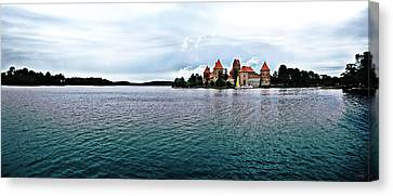 Lithuanian Castle Canvas Print