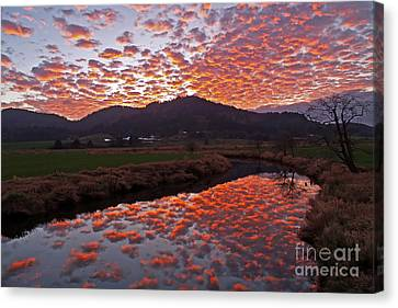 Little Nestucca Sunset Canvas Print by Tim Moore
