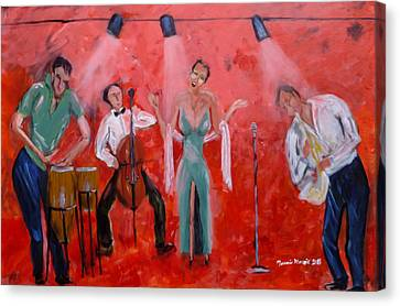 Live Jazz Canvas Print