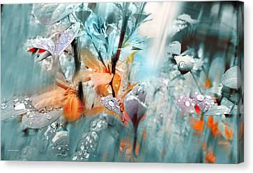 Lluvia Canvas Print by Alfonso Garcia