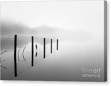 Loch Ard Early Mist Canvas Print by John Farnan