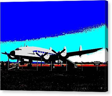 Lockheed Constellation Canvas Print by Will Borden