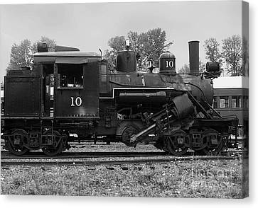Steamer Truck Canvas Print - Locomotive #10 by Charles Robinson