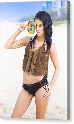 Lollipop Siren Canvas Print by Jorgo Photography - Wall Art Gallery