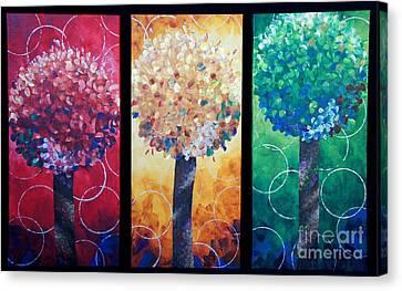 Lollipop Trees Canvas Print