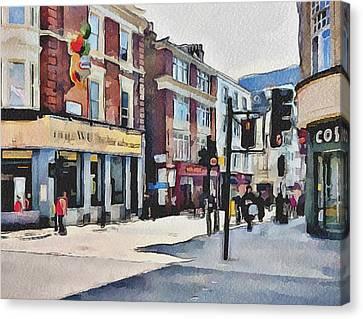 London China Town Canvas Print by Yury Malkov