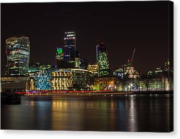 London Skyline Canvas Print by Martin Newman