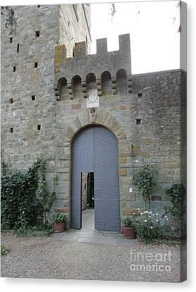 Loppiano's Castle Canvas Print