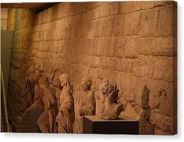Louvre - Paris France - 011312 Canvas Print by DC Photographer