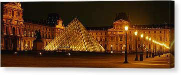 Louvre Paris France Canvas Print by Panoramic Images