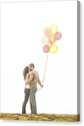 Love And Balloons Canvas Print