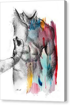 Love Colors 5 Canvas Print by Mark Ashkenazi