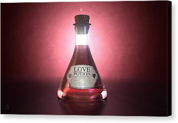 Love Potion Canvas Print by Allan Swart