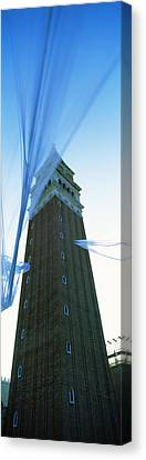 Low Angle View Of A Bell Tower, St Canvas Print
