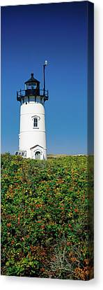 Low Angle View Of A Lighthouse, Race Canvas Print by Panoramic Images