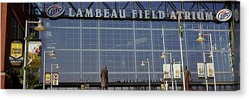 Lambeau Field Canvas Print - Low Angle View Of A Stadium, Lambeau by Panoramic Images