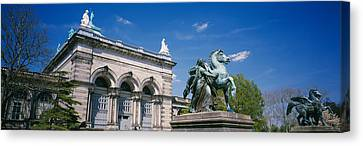 Memorial Hall Canvas Print - Low Angle View Of A Statue In Front by Panoramic Images