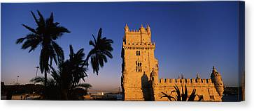 Low Angle View Of A Tower, Torre De Canvas Print by Panoramic Images