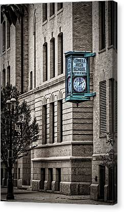 Lowell High School Canvas Print by Phil Cardamone