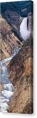 Lower Falls At Grand Canyon Canvas Print