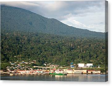 Luba On Island Of Bioko In Equatorial Guinea Canvas Print