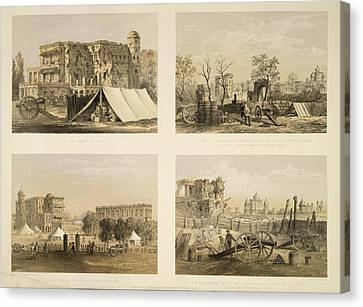 Munitions Canvas Print - Lucknow by British Library