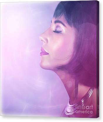 Luxury Female Canvas Print by Anna Om