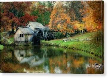 Mabry Mill Canvas Print by Joan Bertucci