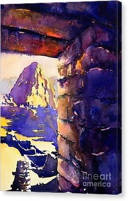 Machu Picchu Canvas Print by Ryan Fox