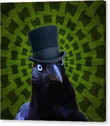 Mad Crow Canvas Print