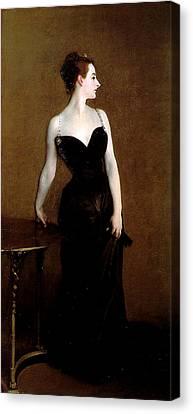 Madame X Canvas Print by John Singer Sargent
