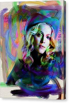 Madonna Canvas Print by Unknown