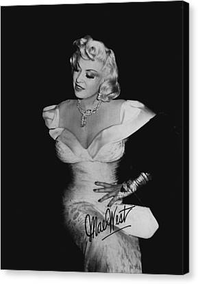 Mae West Canvas Print by Retro Images Archive
