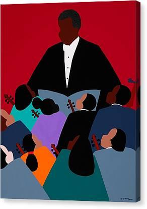 Canvas Print - Maestro by Synthia SAINT JAMES
