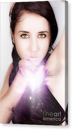 Magical Love Kisses Canvas Print by Jorgo Photography - Wall Art Gallery