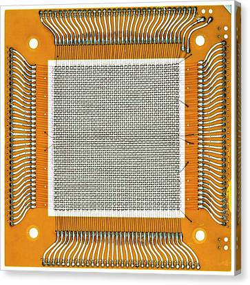 Magnetic-core Memory Canvas Print by Pasieka