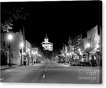 Main Steet Sylva 2003 Canvas Print