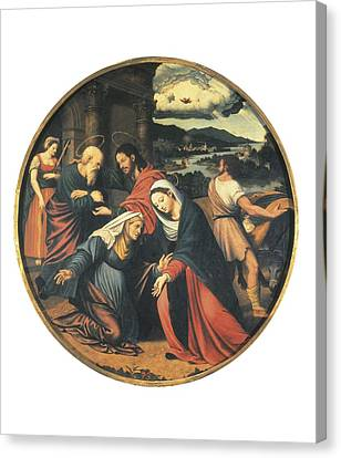 Ma�ip, Vicente 1480-1550. The Canvas Print by Everett