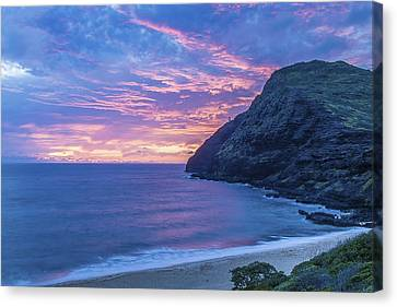Makapuu Sunrise 2 Canvas Print