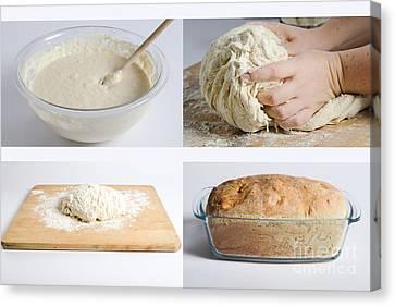 Making Bread Canvas Print