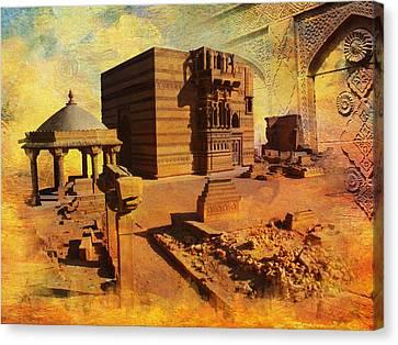 Makli Hill Canvas Print by Catf