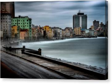 Malecon Canvas Print